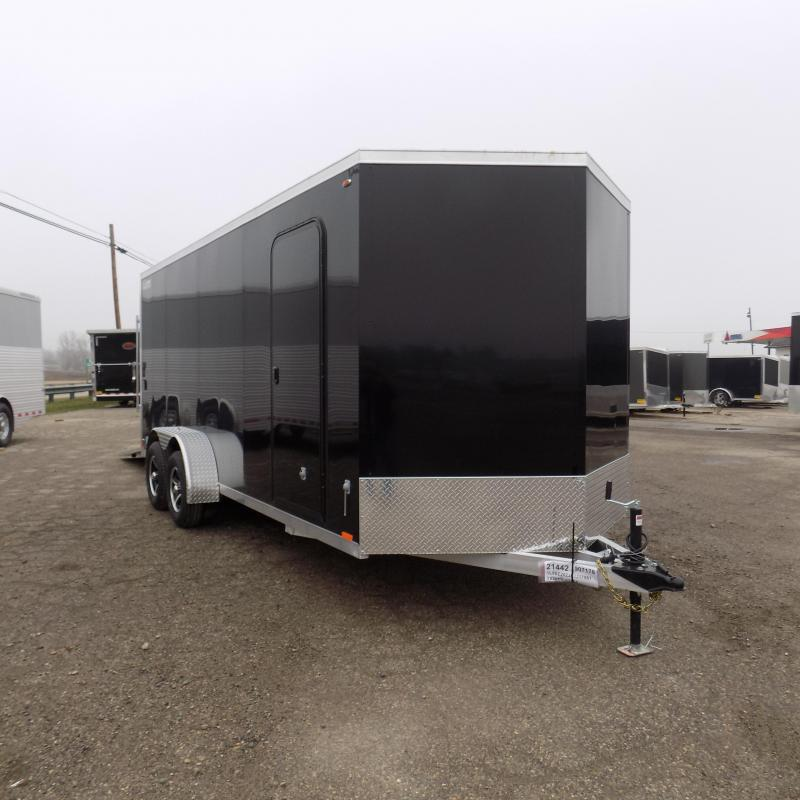 New Legend Thunder 7' X 20' Aluminum Enclosed cargo Trailer