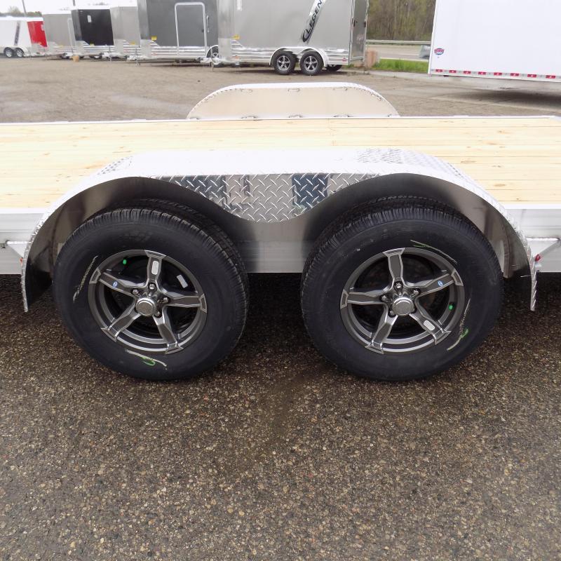 New Legend 7' x 20' Aluminum Open Car Hauler