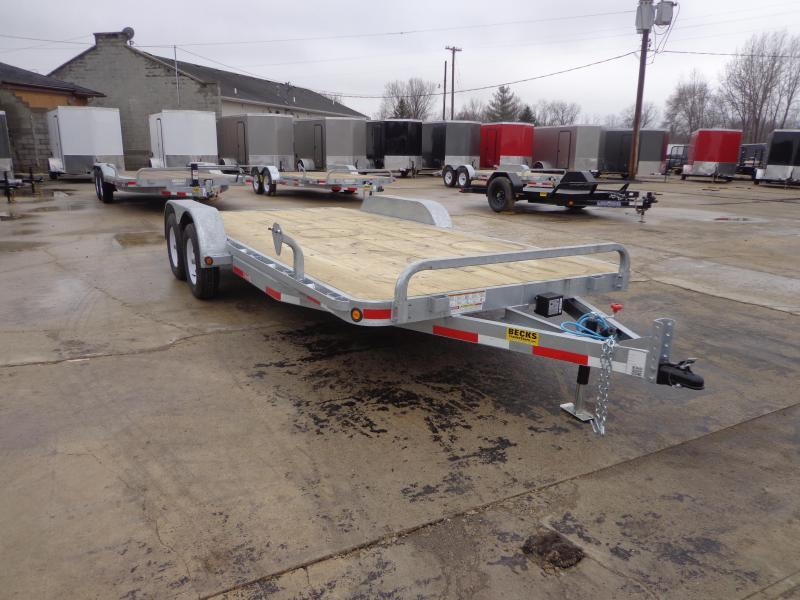 "New Galvanized 83"" x 18' Car Hauler - Torsion Axles in Ashburn, VA"