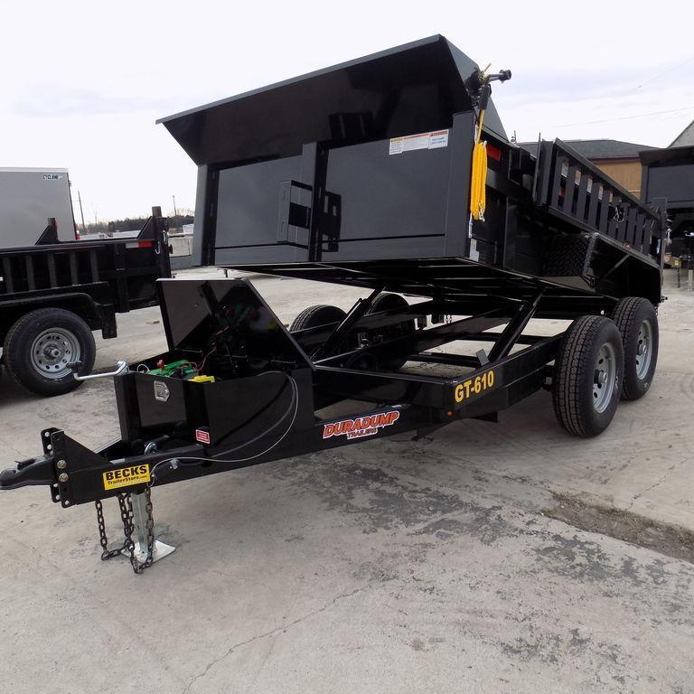 New DuraDump 6' x 10' Contractor Dump Trailer