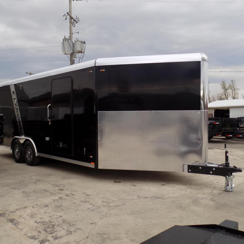 New Legend Trailmaster V-Nose 8.5' x 28' Aluminum Enclosed Car Hauler / All Sports Trailer