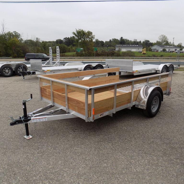 New Legend Trailers Aluminum 3 Board High Side ALHS 6X10ALHSSA