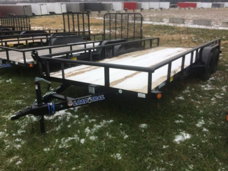"""New Load Trail UE07 83"""" x 18' Open Utility Trailer for Sale"""