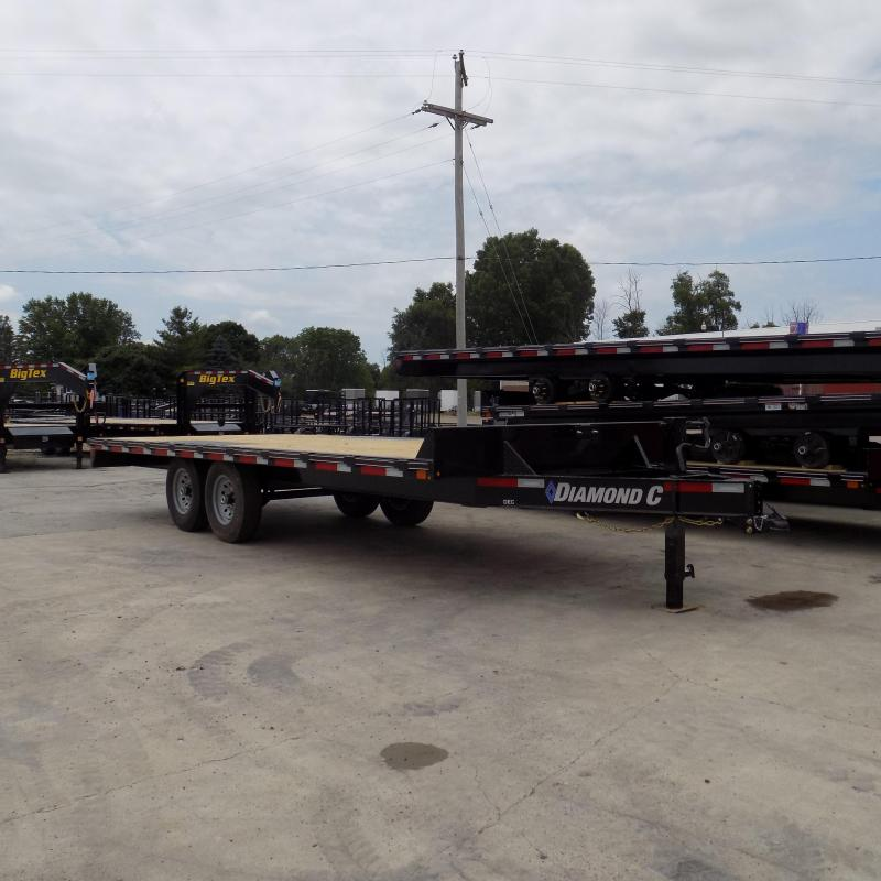"New Diamond C Trailers 102"" x 20' Deckover Equipment Trailer For Sale"