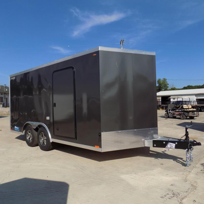 New Legend Thunder 8' X 18' All Aluminum Enclosed Cargo Trailer