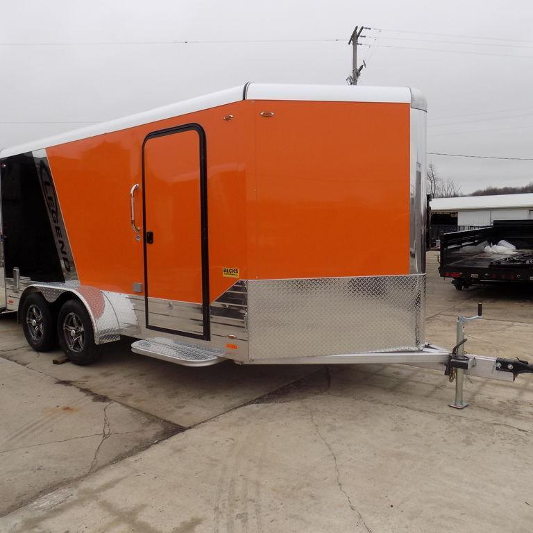 New Legend Trailers Deluxe V Nose Cargo 7X17DVNTA in Ashburn, VA