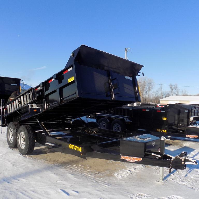 New DuraDump 7' x 14' Dump Trailer for Sale