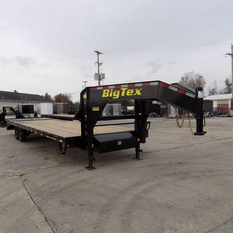 "New Big Tex 102"" x 25' + 5' Gooseneck Trailer"
