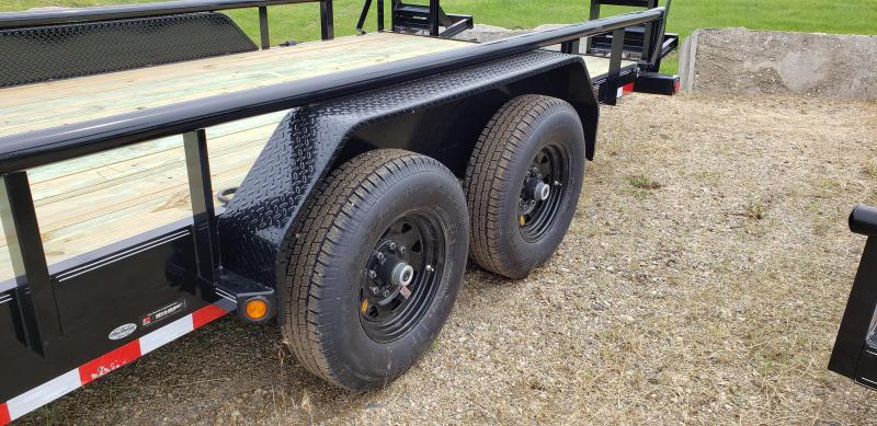 "New Load Trail 83"" x 18' Open Car Hauler With 7K Axles"