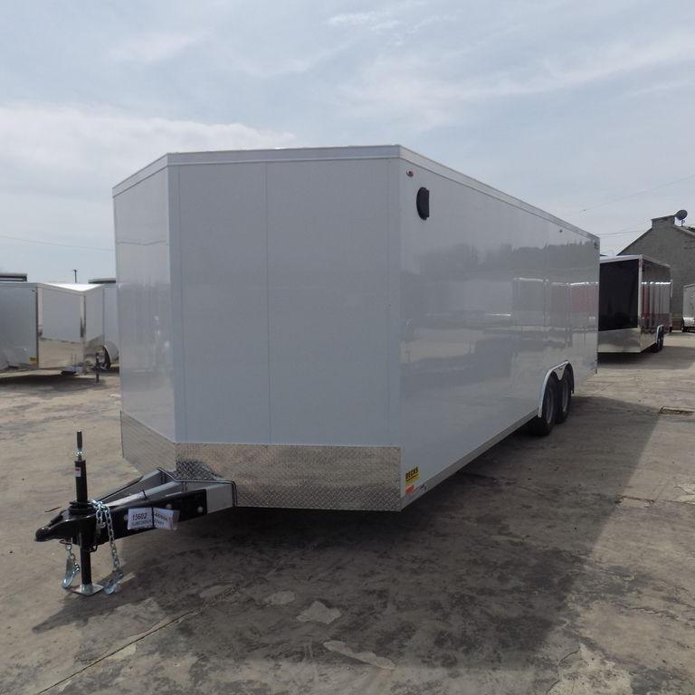 New Legend Thunder 8.5' x 26' Aluminum Car Hauler / Cargo Trailer