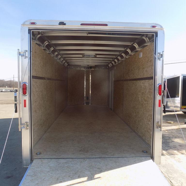 New Legend Deluxe 7' x 21' Aluminum Enclosed cargo Trailer - On Sale