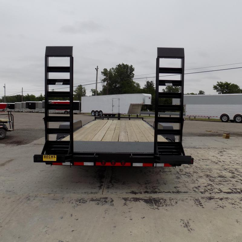 "New Load Trail 83"" x 20' Open Car/Equipment Trailer with 8K Axles"