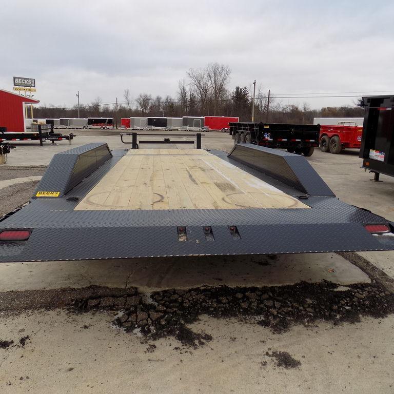 "New Iron Bull 102"" x 22' Triple Axle Tilt Deck Trailer"