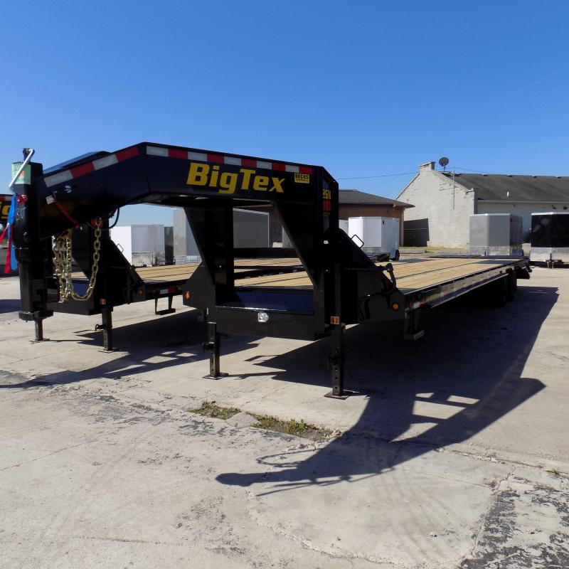 "Big Tex 102"" x 30' + 5' Gooseneck Trailer with MEGA Ramps"