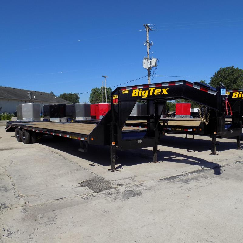 "Big Tex 102"" x 30' + 5' Gooseneck Trailer with MEGA Ramps"