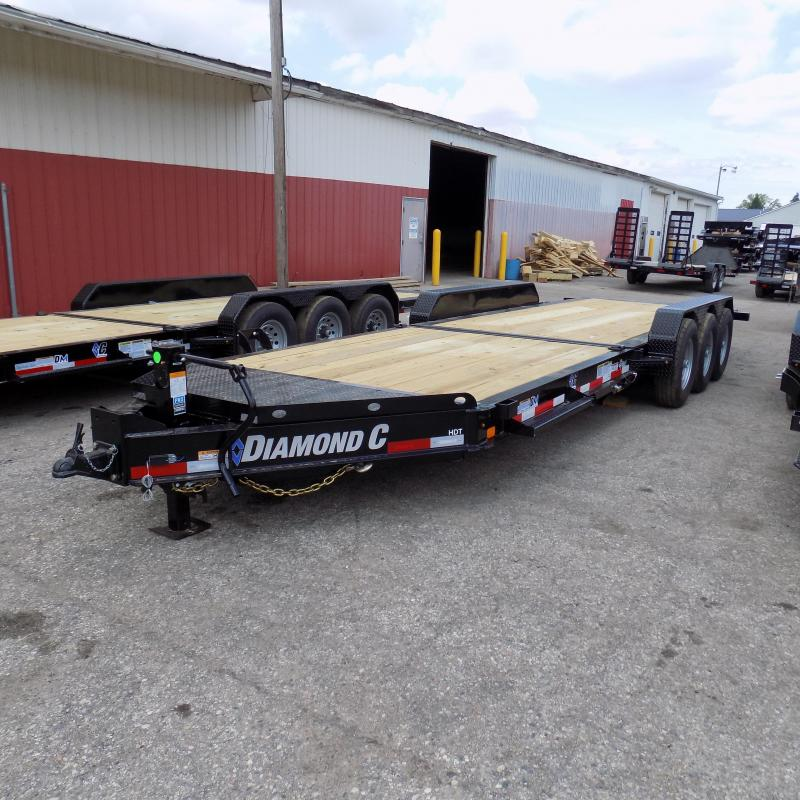 "New Diamond C Trailers 82"" x 24"" Tilt Deck Trailer - 24K Weight Rating"