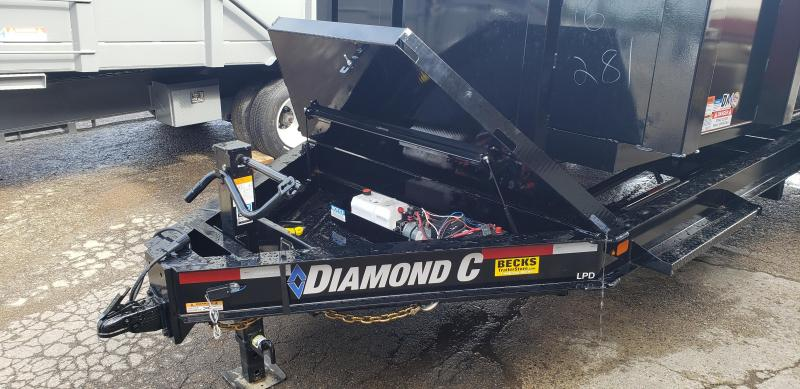 "New Diamond C 82"" x 16' EXTREME DUTY Dump Trailer W/ 10K Axles & 7 ga. Walls/Floor"