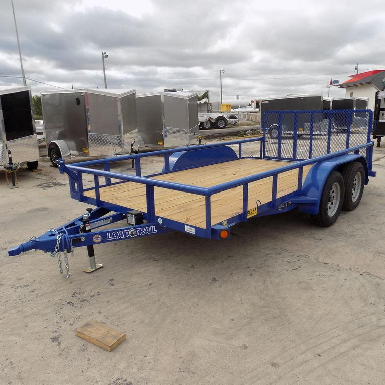 "New Load Trail UE07 83"" x 14' Open Utility Trailer for Sale BECKS BEST DEAL GUARANTEE! CONTACT US TODAY FOR BEST DEAL!"