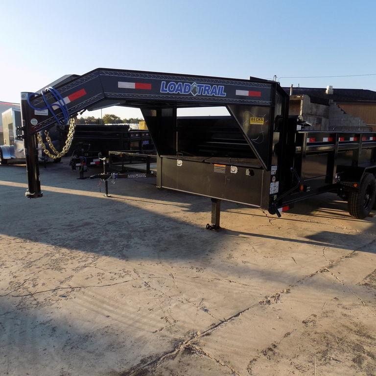 "New Load Trail GD14 83"" x 14' Gooseneck Dump Trailer for Sale"