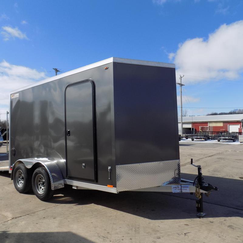 New Legend Thunder 7' x 14' Aluminum Enclosed Cargo For Sale