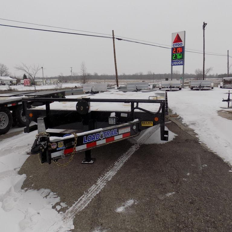 "New Load Trail PS14 102"" x 22' Flatbed Equipment Trailer"