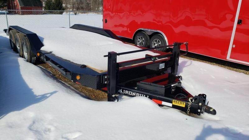 "New Iron Bull 83"" x 20' triple Axle Tilt Deck Trailer"