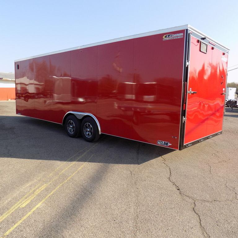 2018 Legend Trailers Cyclone 8.5X28STVTA52-Payments $172/mo.