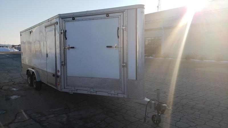Used R & R Trailers 7.5' X 24' Snowmobile Trailer