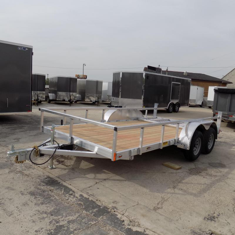New Legend Open Deluxe 7' x 14' Aluminum Utility Trailer