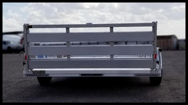 "2020 H and H Trailer 82"" x 14' RAILSIDE ALUM 3K"