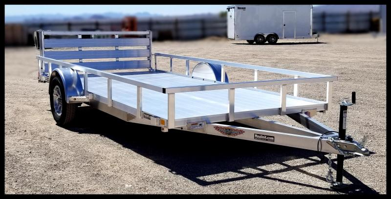"2020 H and H Trailer 82"" x 14' RAILSIDE ALUM 3K"