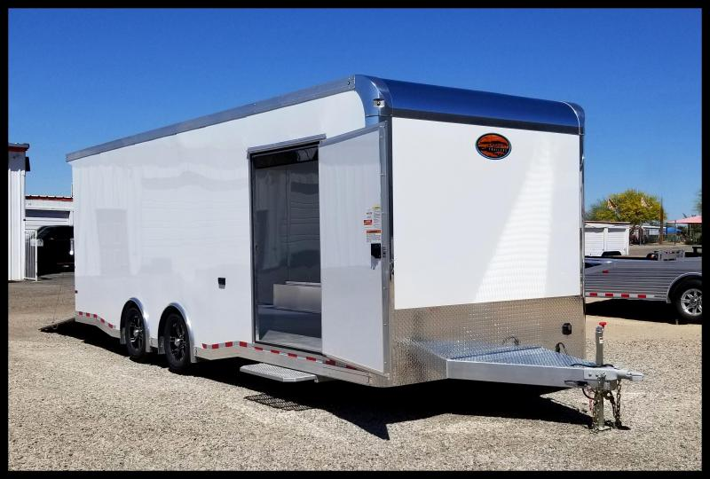 2019 Sundowner 8.5 x 28 Aluminum Race Series Enclosed Trailer