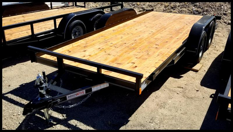 2019 Innovative Trailer 77 x 16 Flatbed Trailer