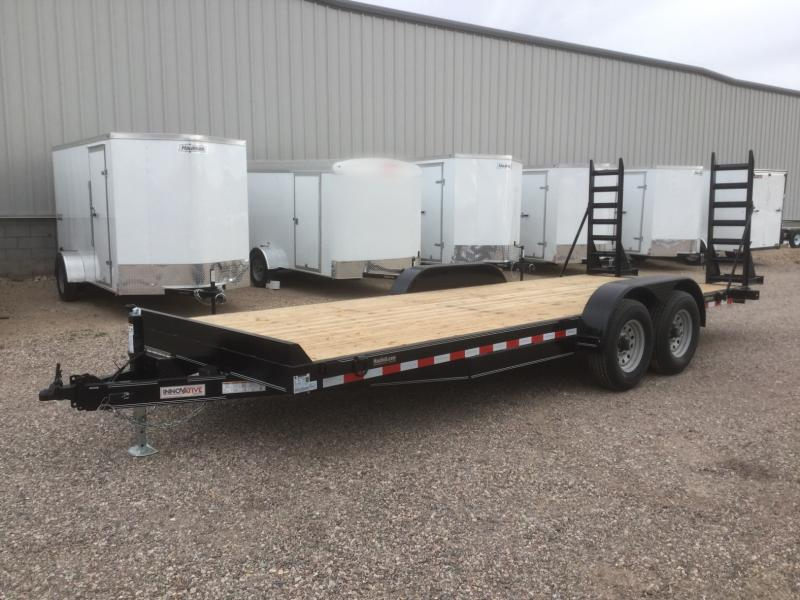 2019 Innovative Trailer Mfg. 19HD-EQ 20x81 Equipment Trailer