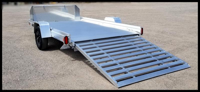 2020 Aluma 2020 Aluma 7 x 12 Flatbed Trailer Utility Trailer