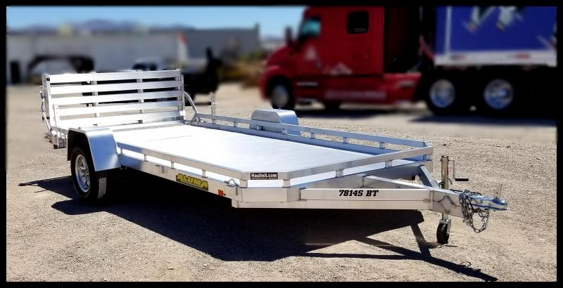 2020 Aluma 7814S-BT-TR Flatbed Trailer