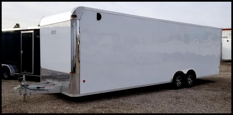 2019 Mission EZ Hauler 8 x 28 Aluminum  Enclosed Cargo Trailer