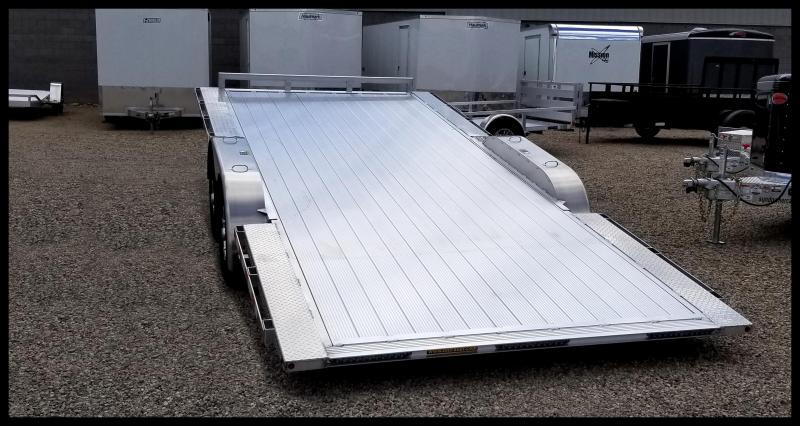 2019 H & H Trailers 82 x 18 Aluminum Power Tilt EX SpeedLoader
