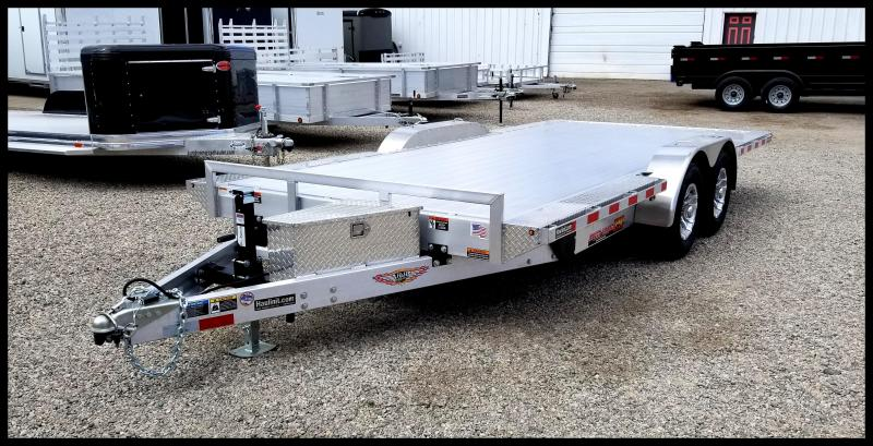 2019 H & H Trailers 82 x 18 Aluminum Power Tilt EX SpeedLoader