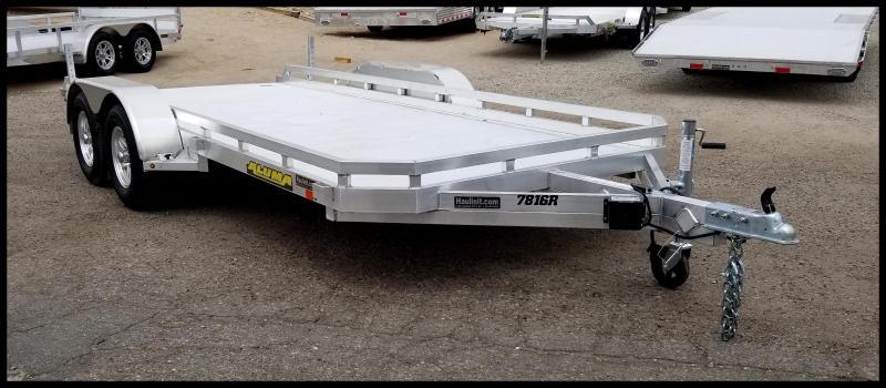 2020 Aluma 78 x 16 Aluminum Flatbed Trailer