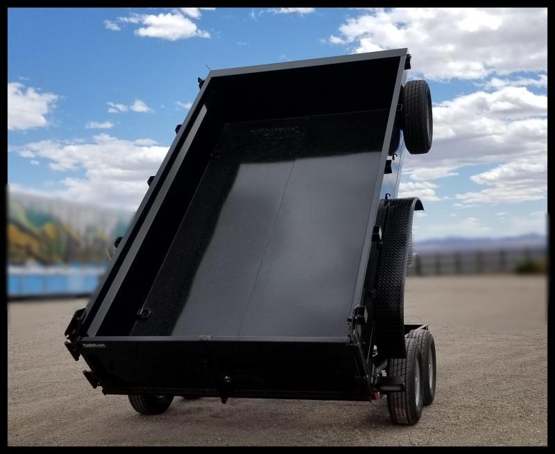2020 Innovative 83 x 14 14,000 GVWR  Dump Trailer