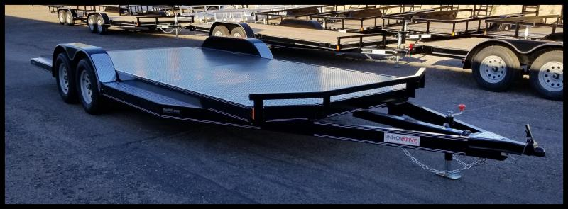 2019 Innovative 83 x 20 Flatbed Trailer