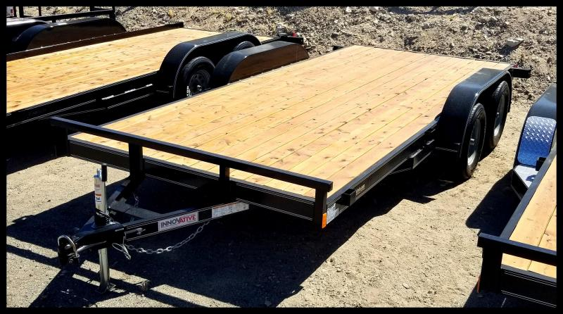 2019 Innovative Trailer 83 x 16 Flatbed Trailer