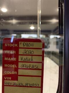 2020 Dutchmen Manufacturing Kodiak 296BHSL