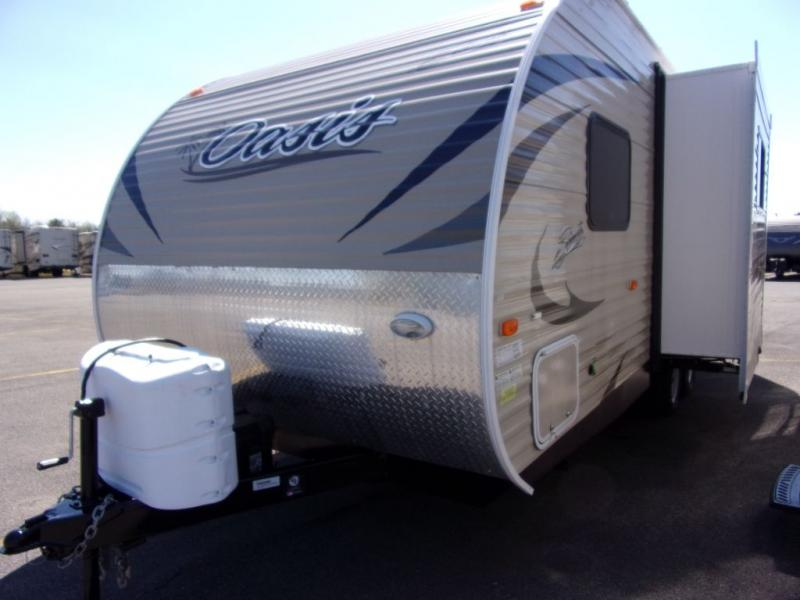 2018 Shasta By Forest River Shasta Oasis 21RB