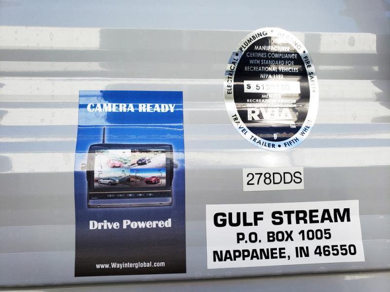 2019 Gulf Stream Conquest 278DDS