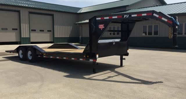 2019 PJ Trailers TS242 Equipment Gravity Tilt Trailer