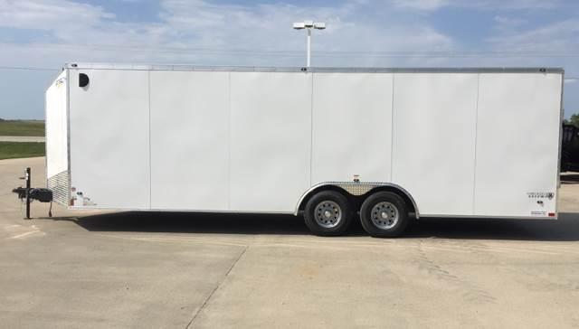 "2019 Stealth Titan 8.5'x 24'x78"" V-Nose Tandem Cagro trailer"