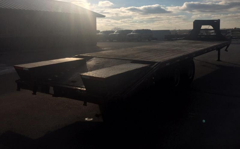 2009 Other Maxey 30 Deckover Tandem Dual Flatbed Trailer