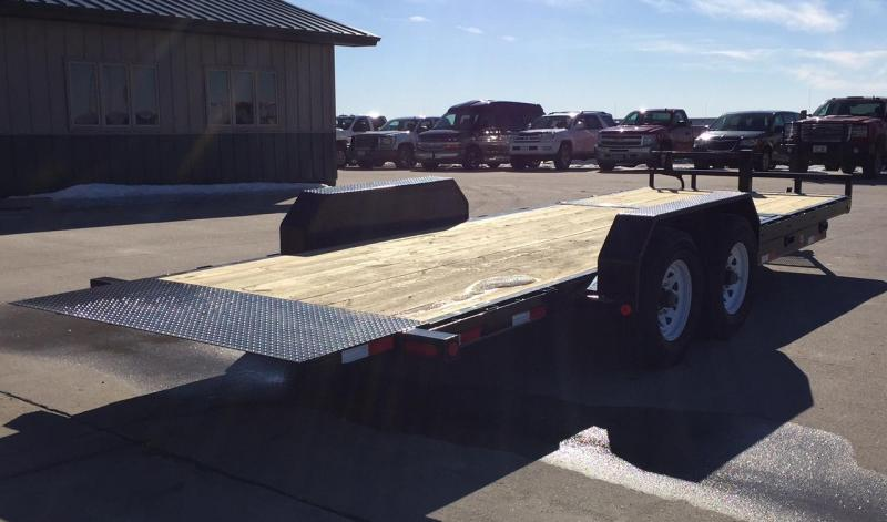 2019 PJ Trailers T6 Gravity Tilt Equipment Trailer